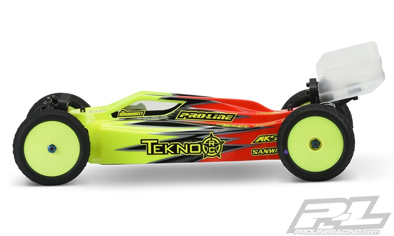 Pro-Line Elite Light Weight Tekno EB410 Body - Side