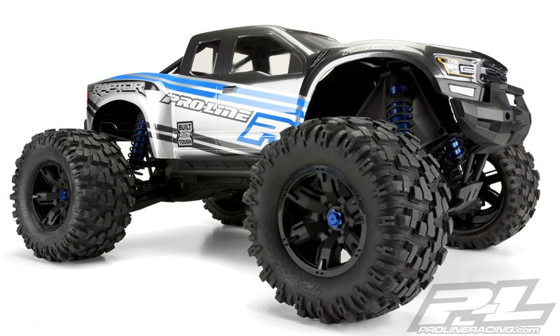 Pro-Line Ford F-150 Raptor X-Maxx Body - Side Angle