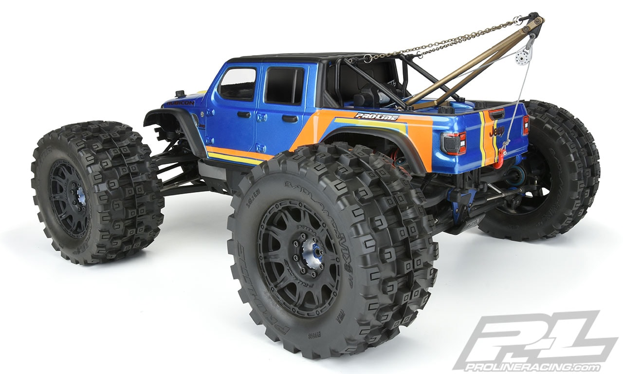 Pro-Line Jeep Gladiator SCT Body - Rear with Tow Package