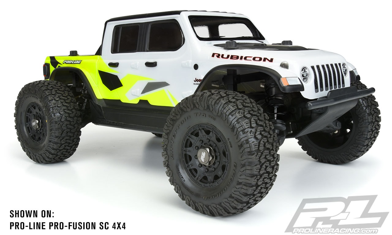 Turn Your Short Course Truck or Monster Truck into a True Gladiator with Pro-Line's Latest Body