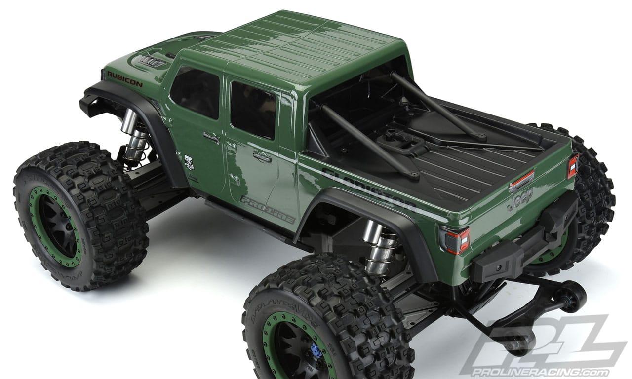 Pro-Line Jeep Gladiator Traxxas X-Maxx Body - Rear