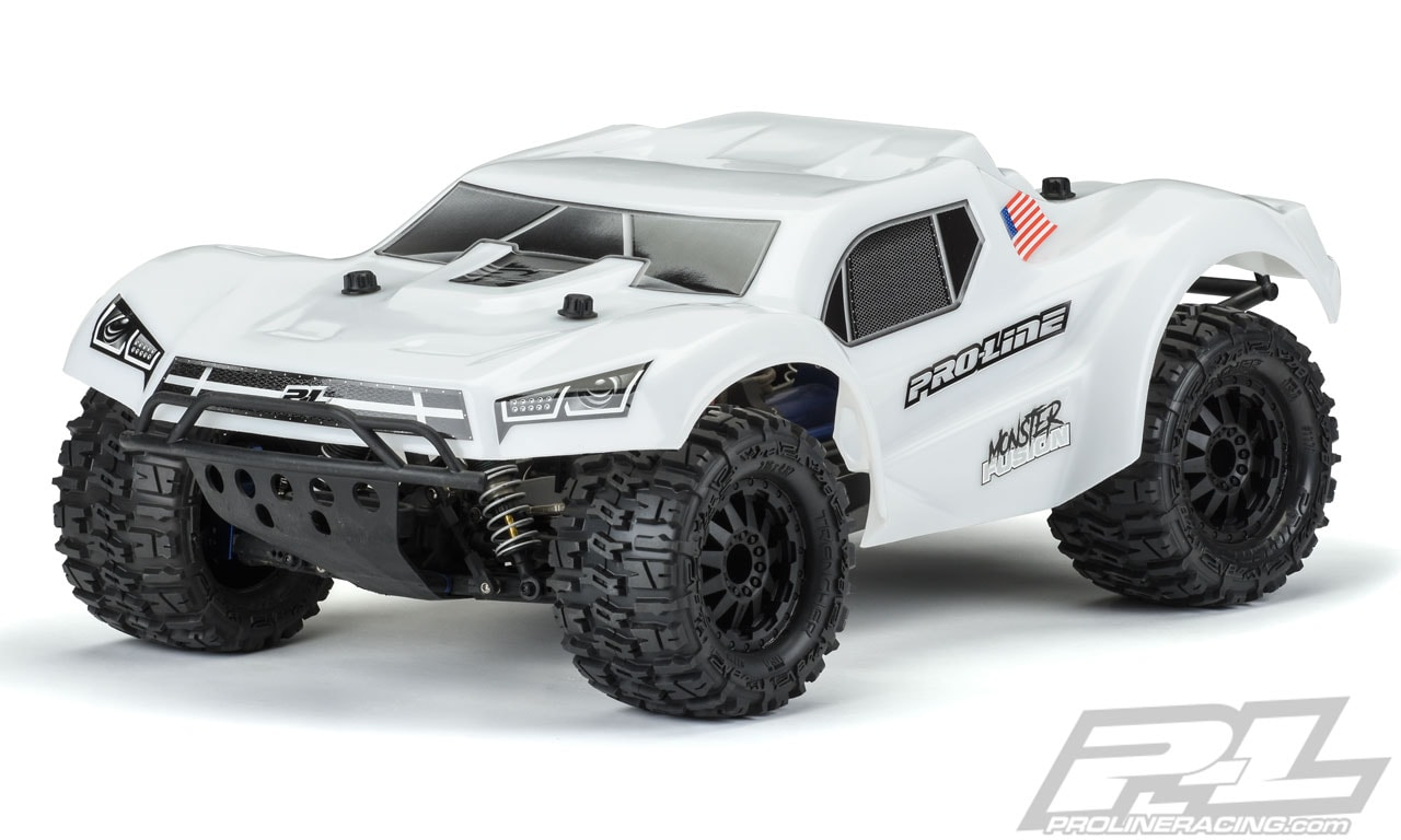 Pro-Line Monster Fusion Brute Bash Armor Short Course Truck Body