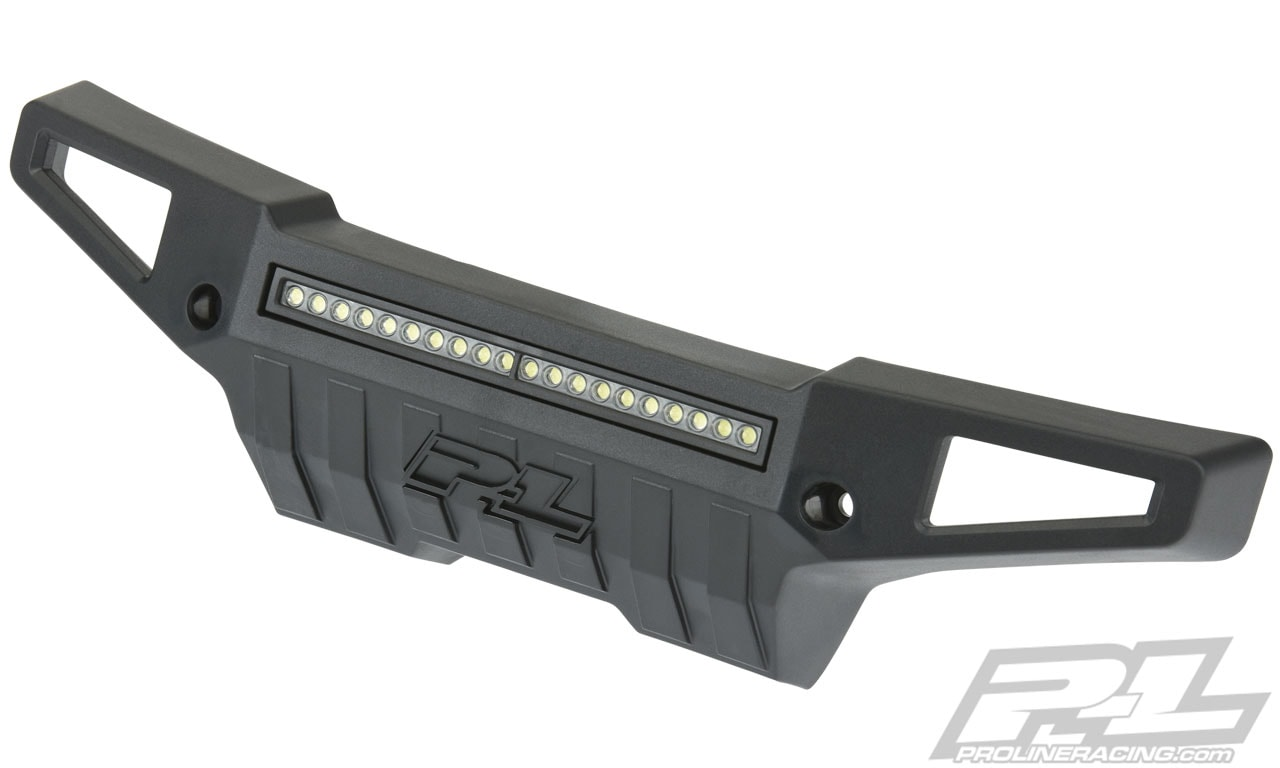 Pro-Line PRO-Armor Front Bumper and LED Light Bar for Traxxas X-Maxx