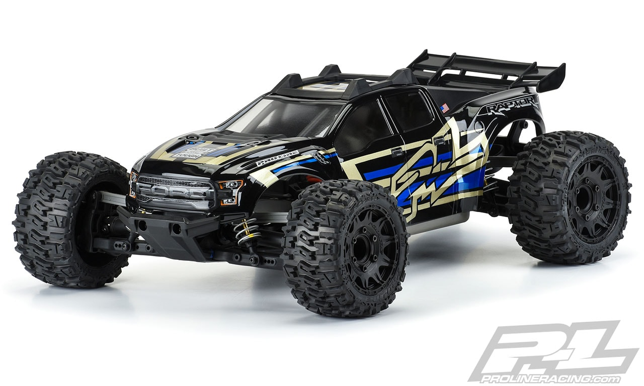 Pro-Line 2017 Ford F-150 Raptor Body for the Traxxas Rustler 4×4