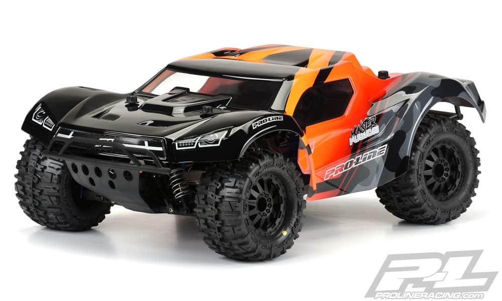 Pro-Line's Pre-Cut Monster Fusion Body for the Traxxas Slash