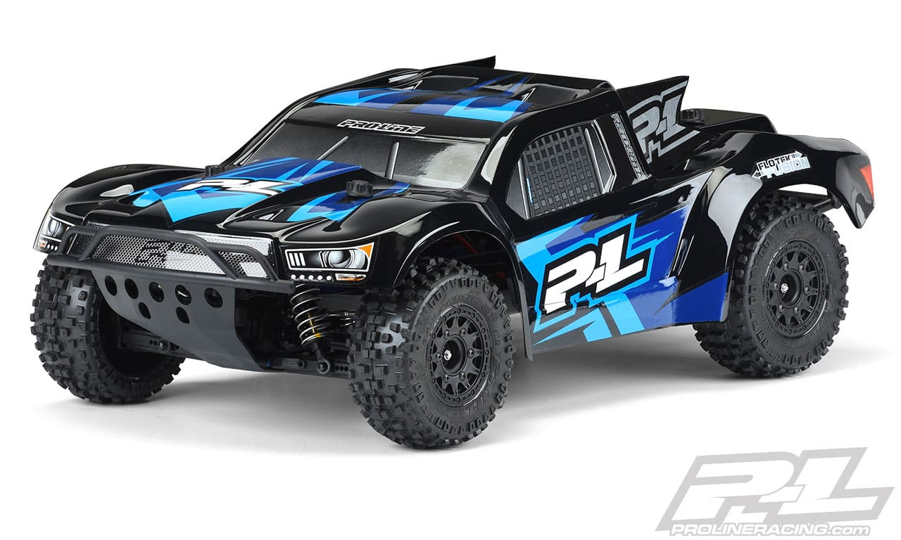 Pro Line Pre Painted Pre Cut Flo Tek Fusion Body For The Traxxas 1 10 Scale R C Short Course Trucks Rc Newb