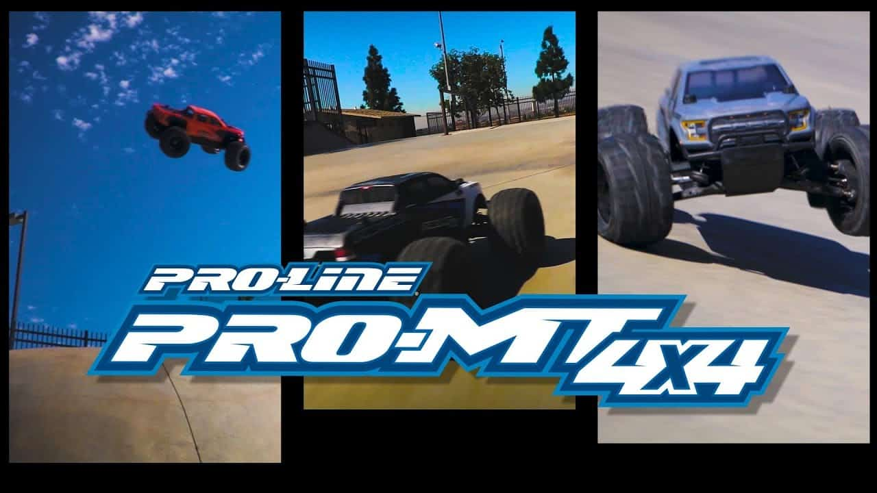 See it in Action: Pro-Line's PRO-MT 4×4 Monster Truck [Video]