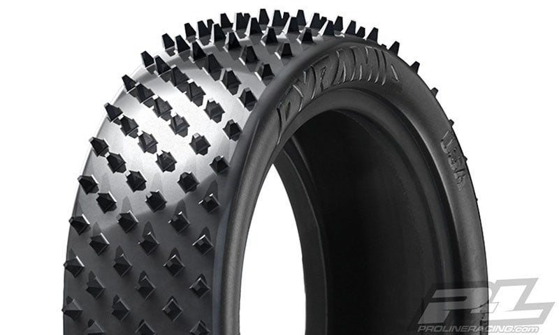 Pyramid 1/10-scale Front Buggy Tires by Pro-Line