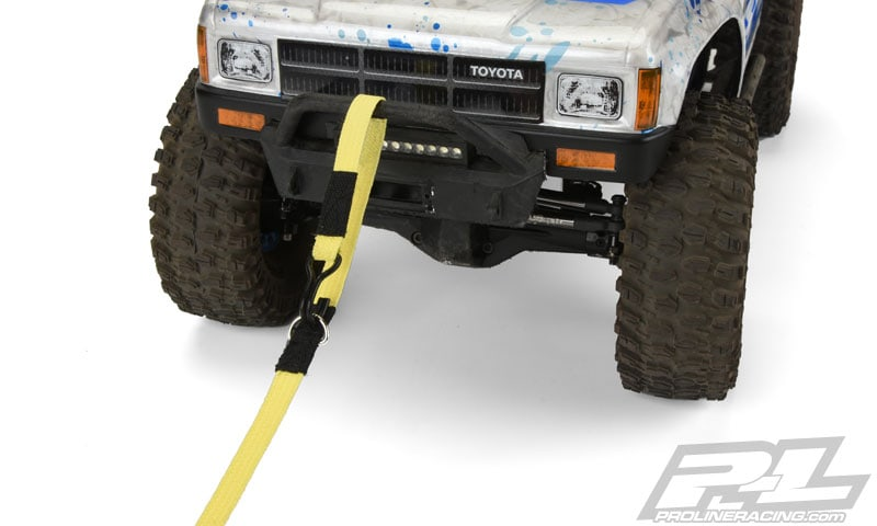 Where to hook up a tow strap
