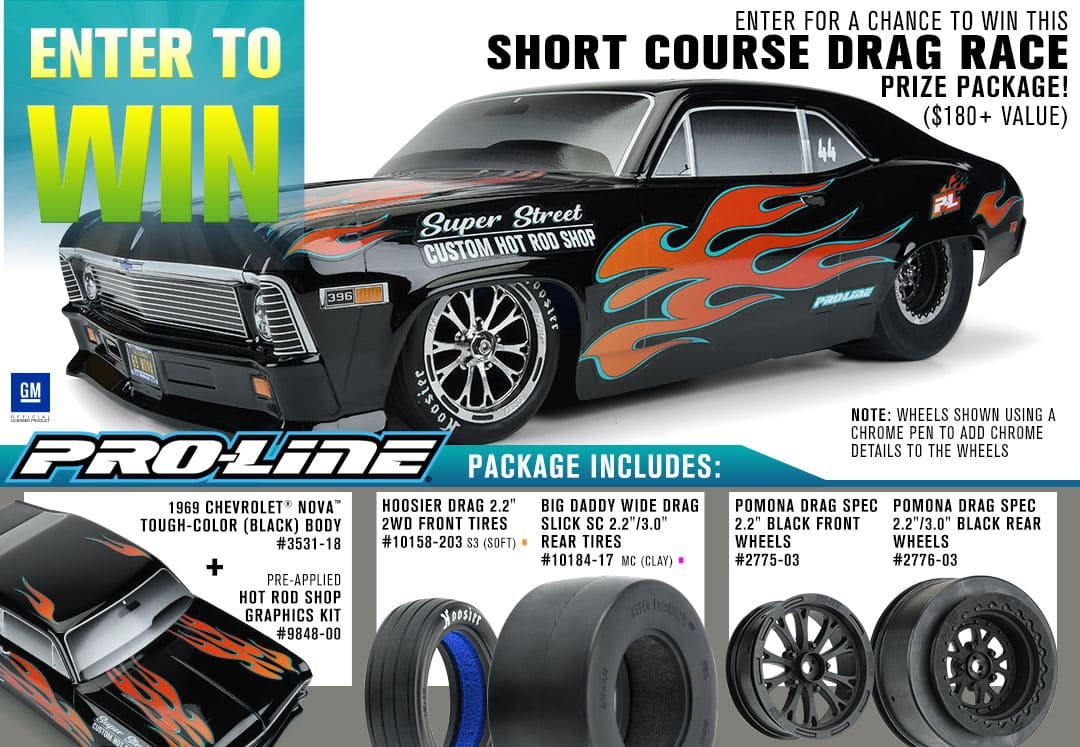 Enter to Win a Short Course Drag Race Prize Pack from Pro-Line!
