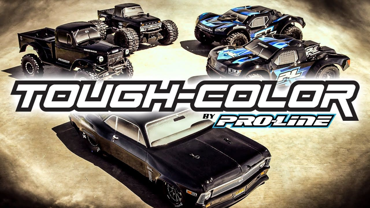 """An Overview of Pro-Line's """"Tough-Color"""" Bodies for Scalers, Dragsters, Monster and Short Course Trucks [Video]"""