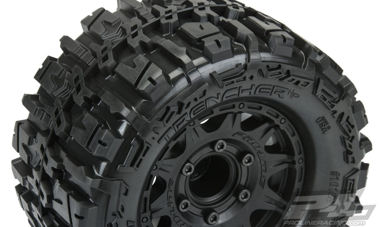 Pro-Line Trencher HP All-Terrain Belted Tires