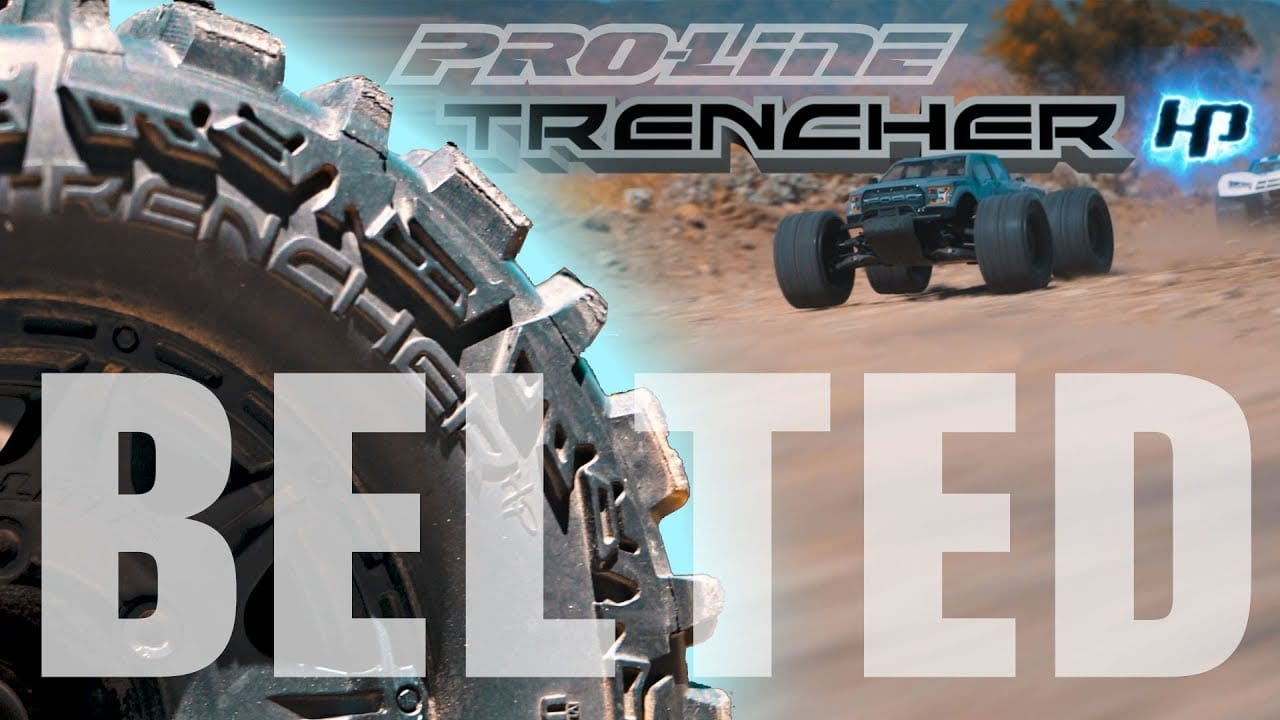 High-speed Performance: Pro-Line Trencher HP Belted Tires [Video]