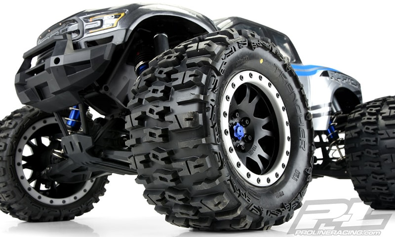 Pro-Line Trencher 4.3″ Pro-Loc All Terrain Tires for the Traxxas X-Maxx