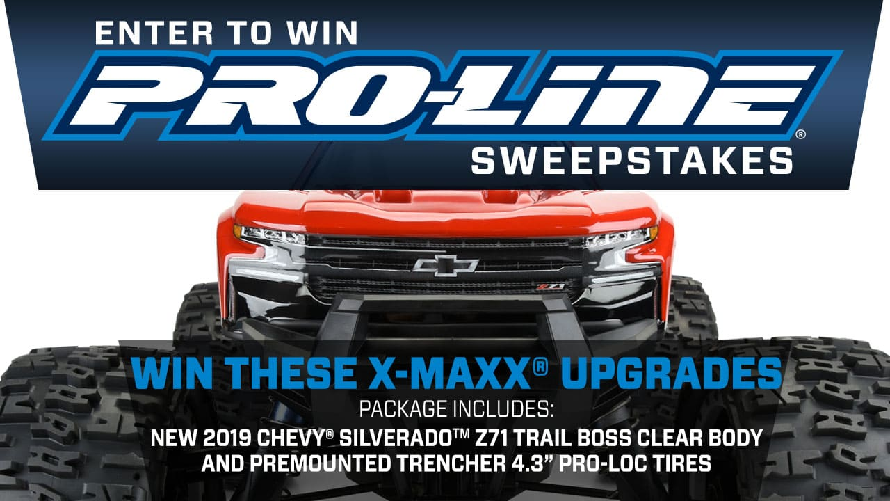 Enter to Win: Pro-Line's Traxxas X-Maxx Upgrade Giveaway