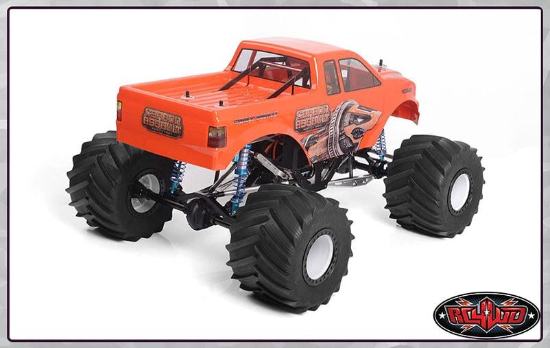 RC4WD Carbon Assault Monster Truck - Rear