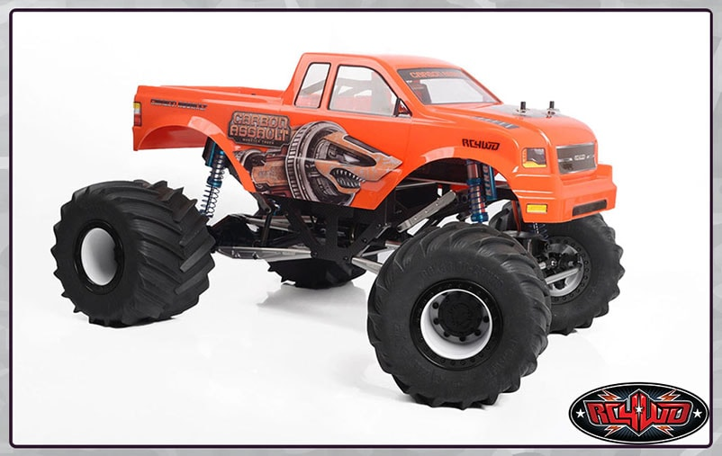 RC4WD Carbon Assault RTR Monster Truck