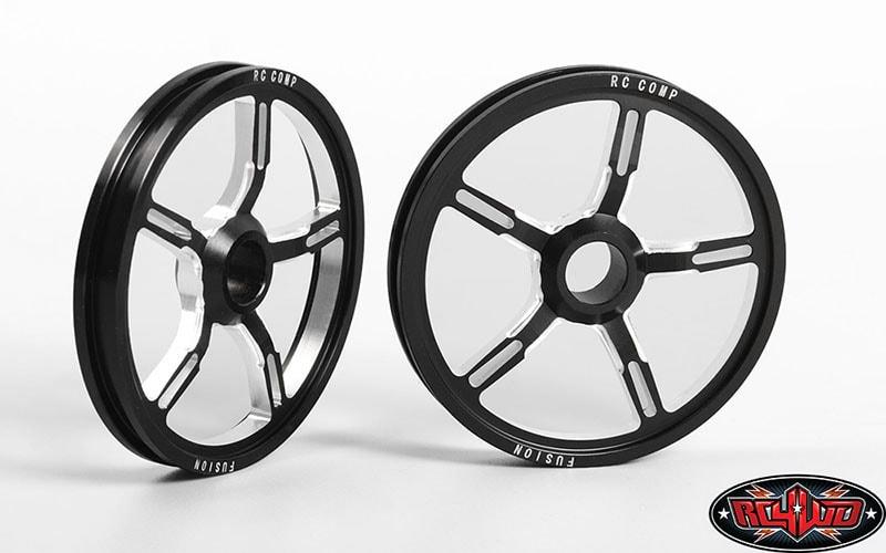 "RC4WD RC Components ""Fusion"" Aluminum Front Drag Race Wheels"