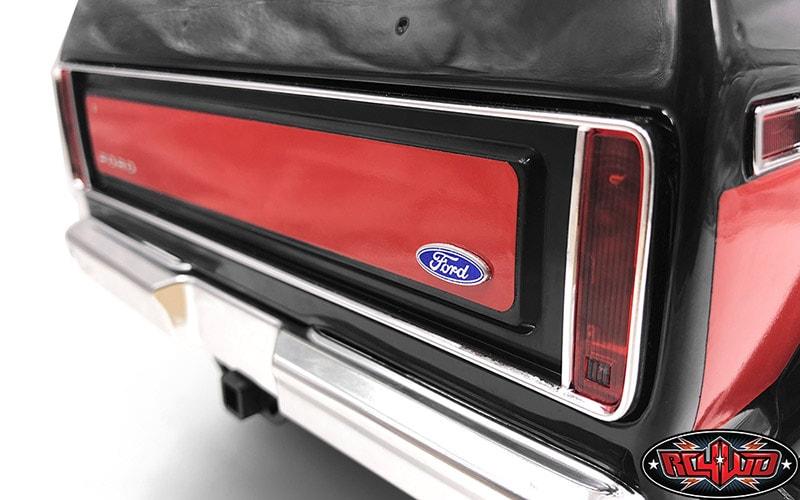 RC4WD Traxxas TRX-4 Bronco Rear Ford Emblem