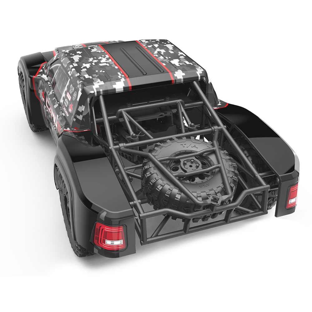 Redcat Racing Camo TT Pro Trophy Truck - Rear