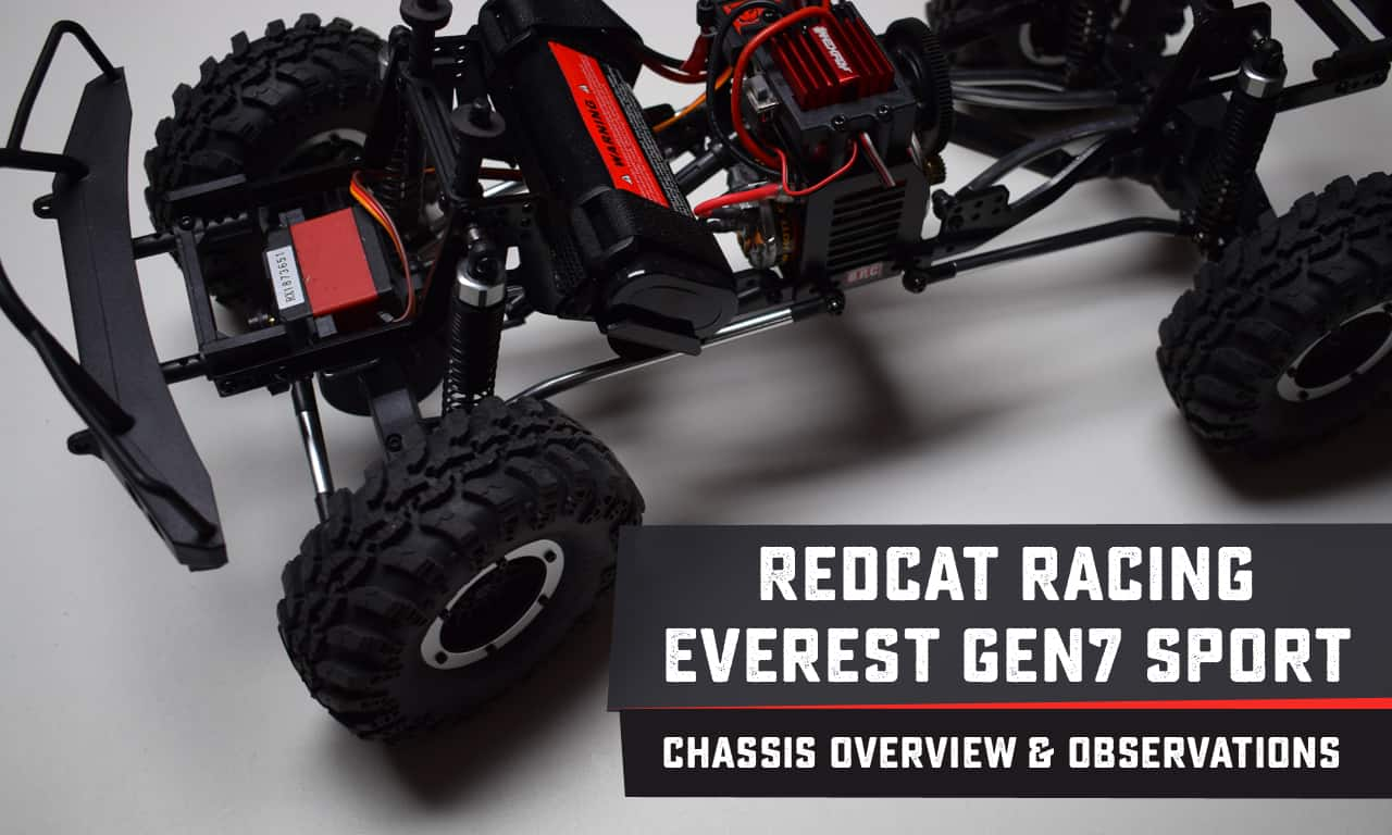 Examining the Chassis of the Redcat Racing Everest GEN7 Sport [Video]