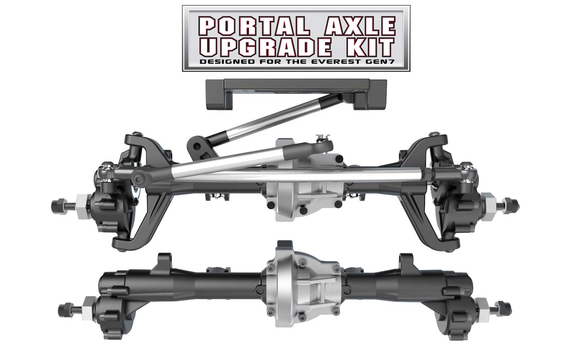 Redcat Racing Everest GEN7 Portal Axle Upgrade Kit - Large View