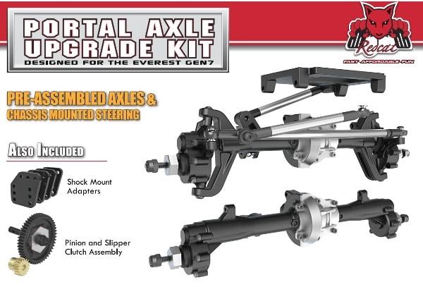 Redcat Racing Everest GEN7 Portal Axle Upgrade Kit