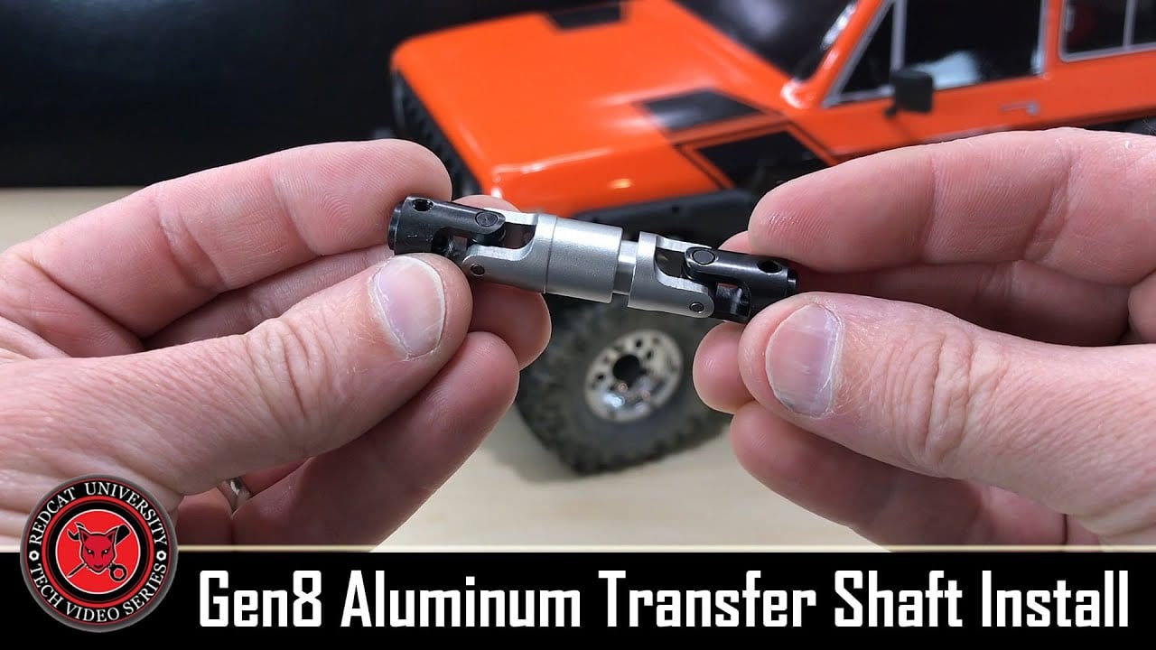 Redcat Racing Shows You How to Swap Out the Transfer Shaft on Your GEN8 [Video ]