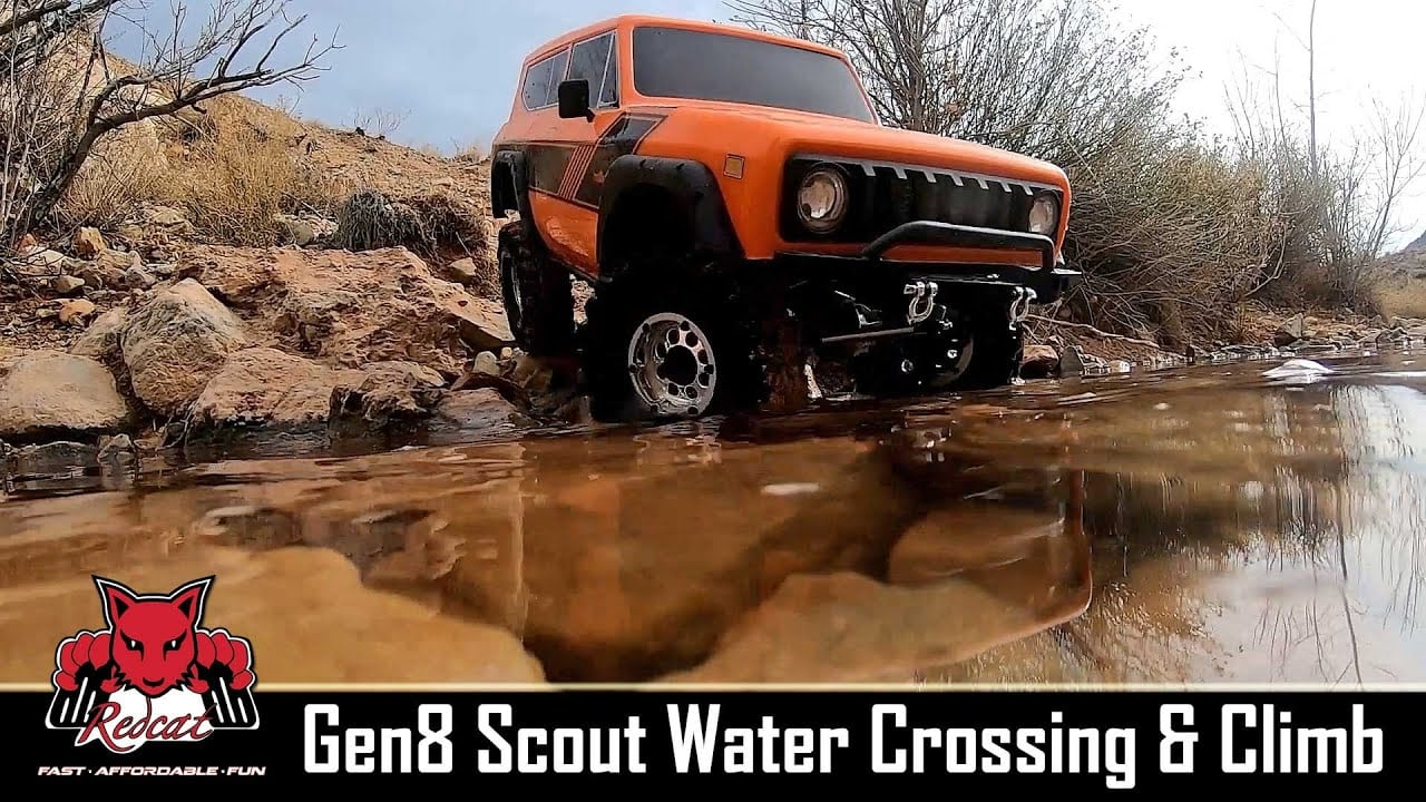 Ready for the Outdoors: Watch the Redcat Racing GEN8 Take on Water, Mud, and Dirt [Video]