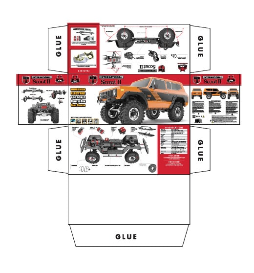 Redcat Racing Scale Box - Flat