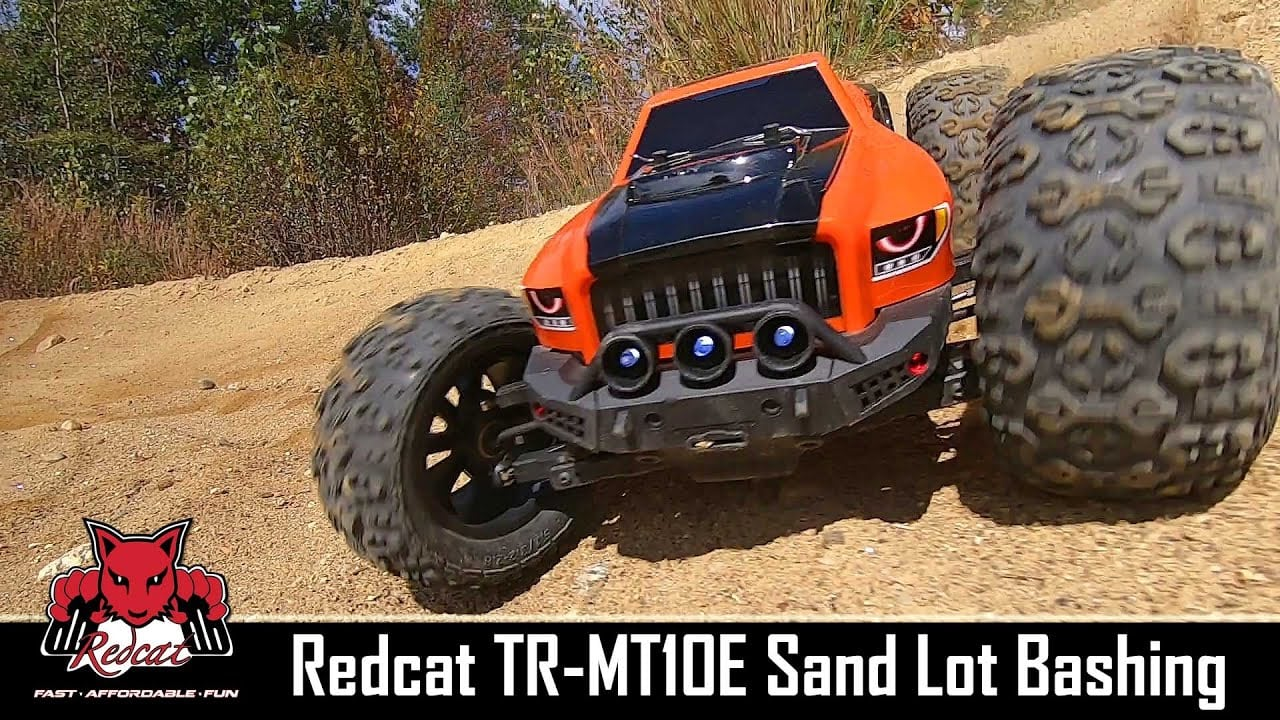 Sand-blasting with the Team Redcat TR-MT10e [Video]