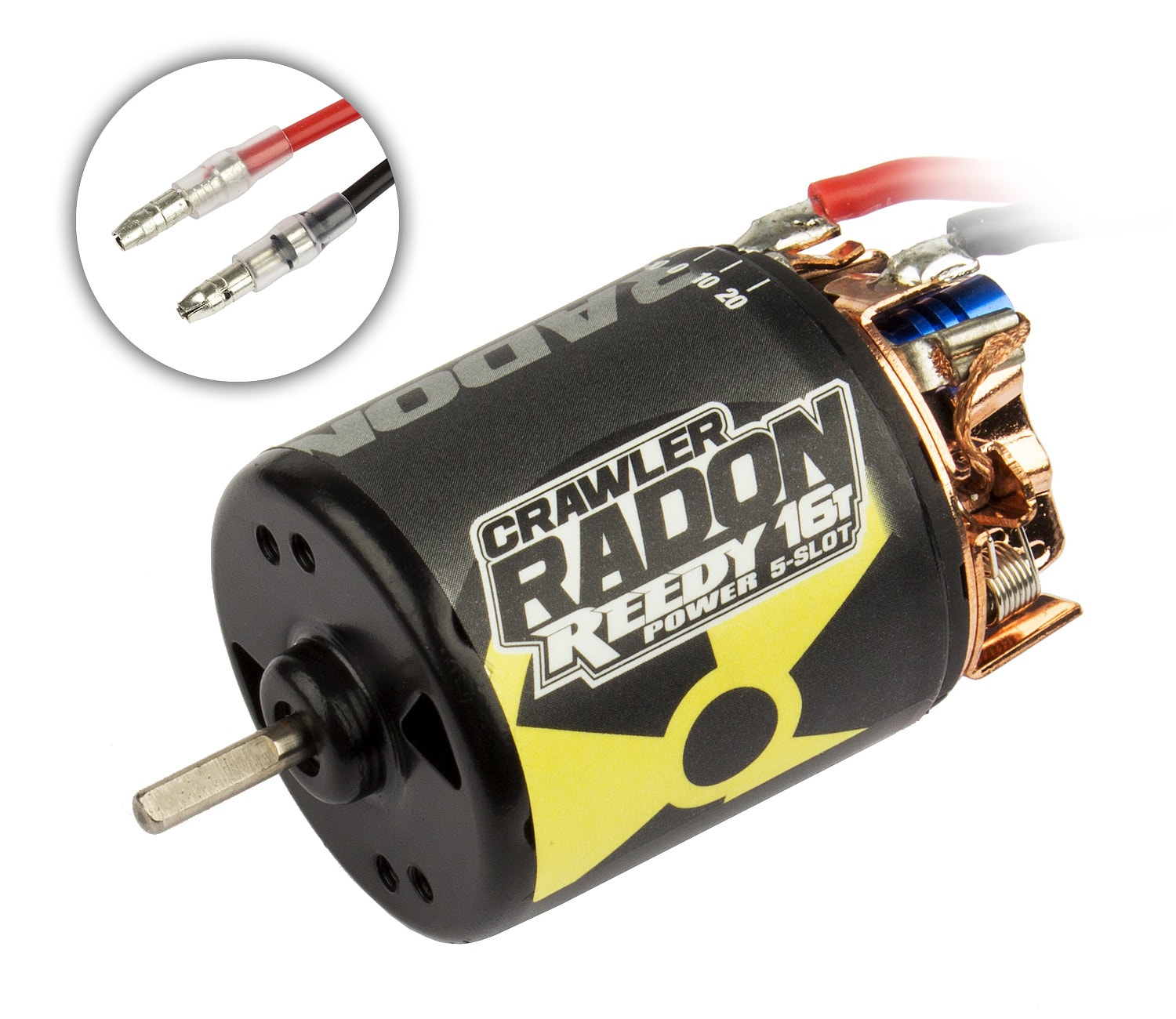 Three New Reedy Radon 2 Crawler Motors from Team Associated