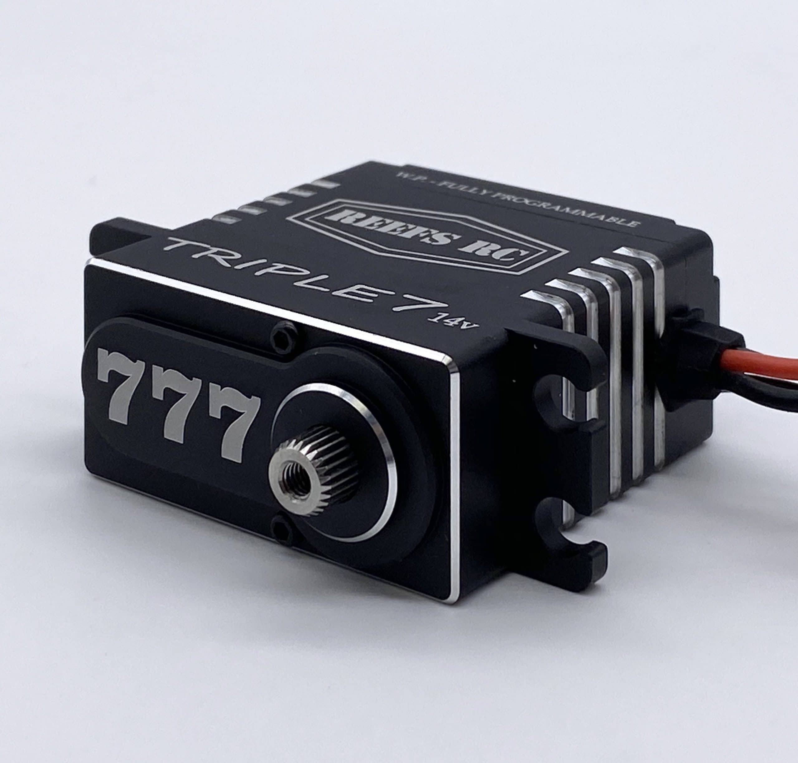 Turn up the Torque with the Triple7 Servo from REEF'S R/C