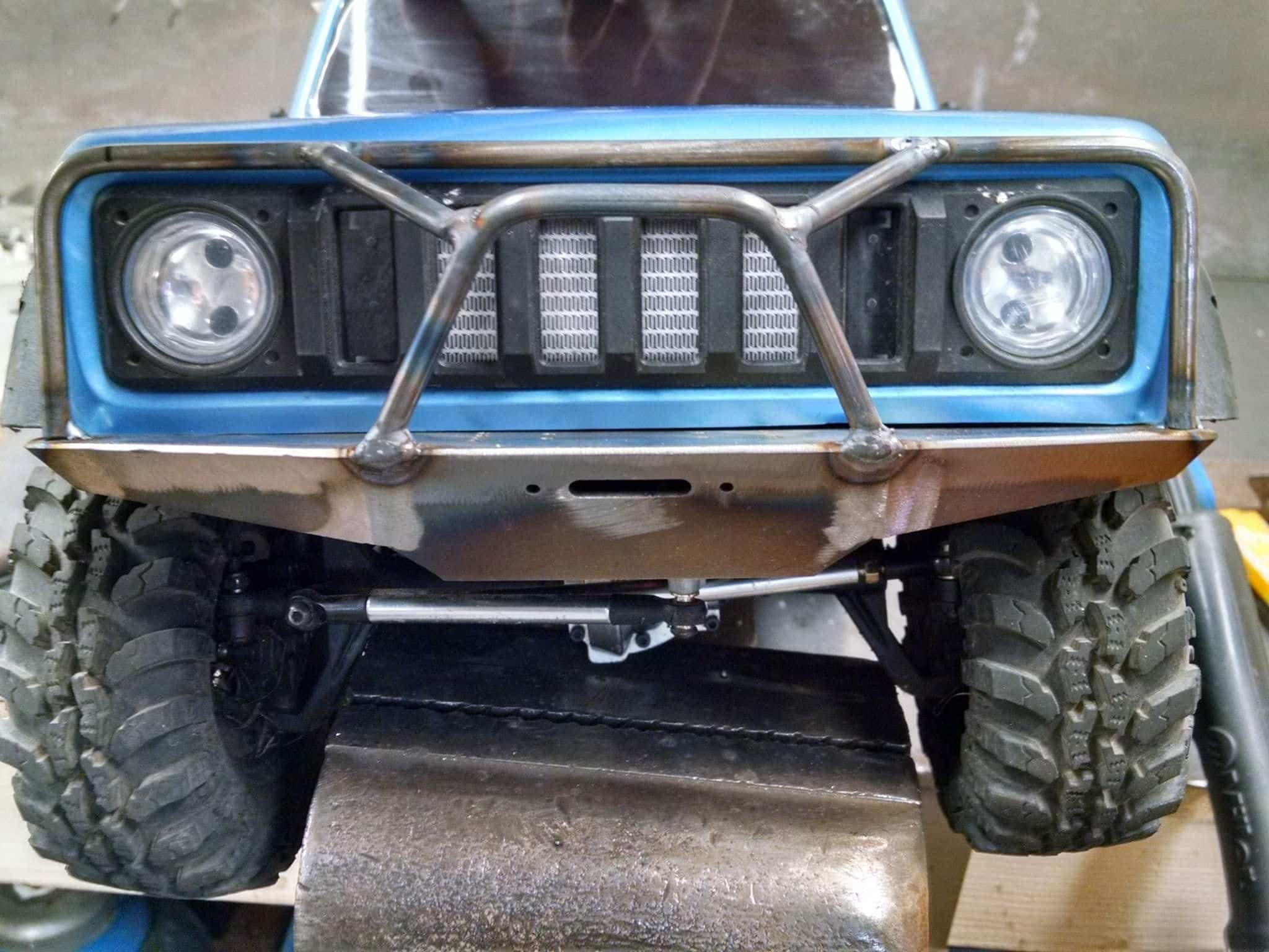 ScalerFab Bumpers and Rock Sliders for the Redcat Racing GEN8