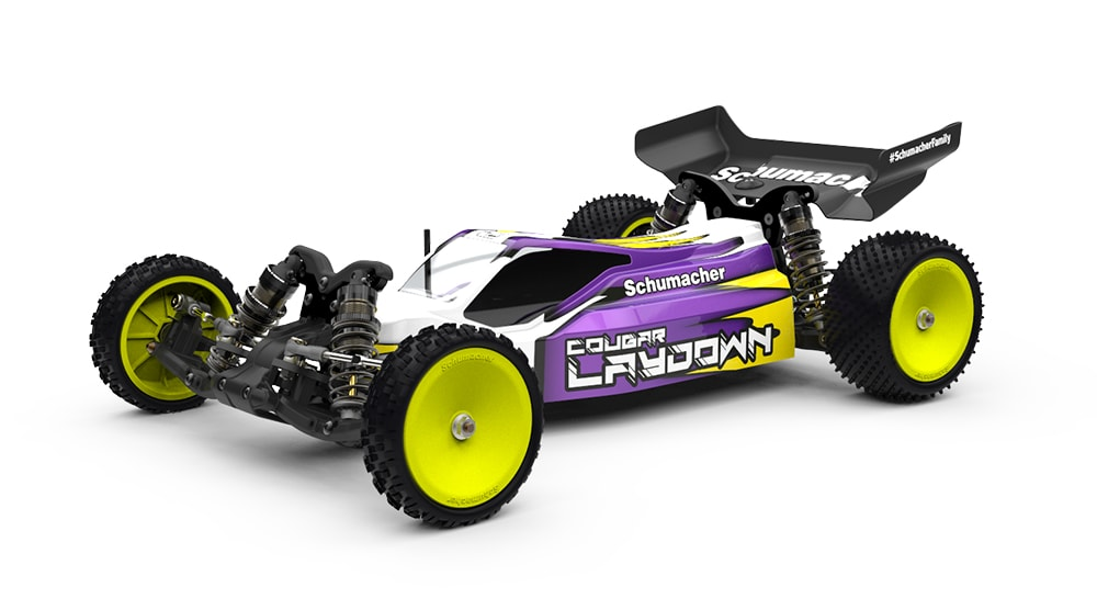 "Schumacher Cougar ""Laydown"" 2WD Competition Buggy Kit"