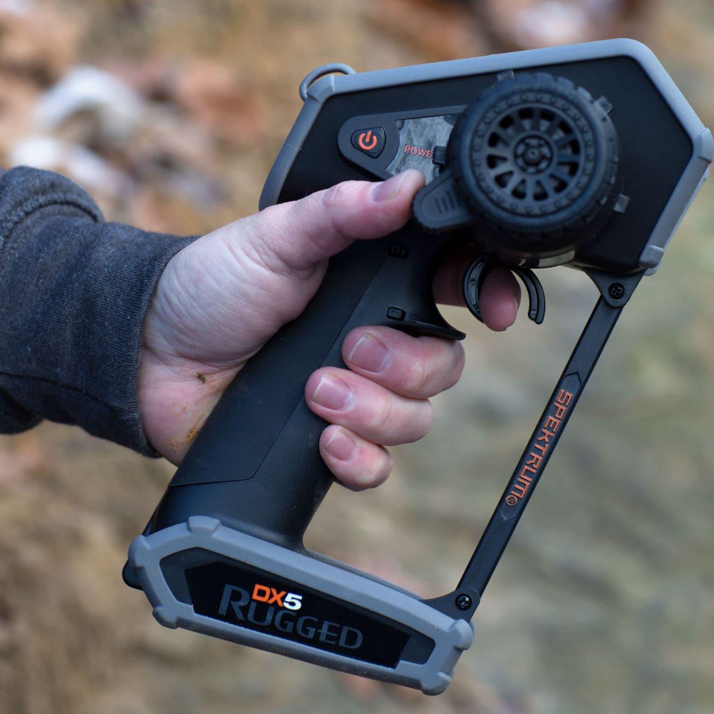 Spektrum DX5 Rugged RC Crawler Radio - Thumb Steer