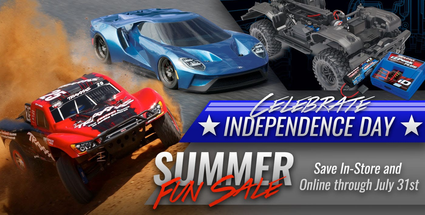 Summer Savings from Traxxas