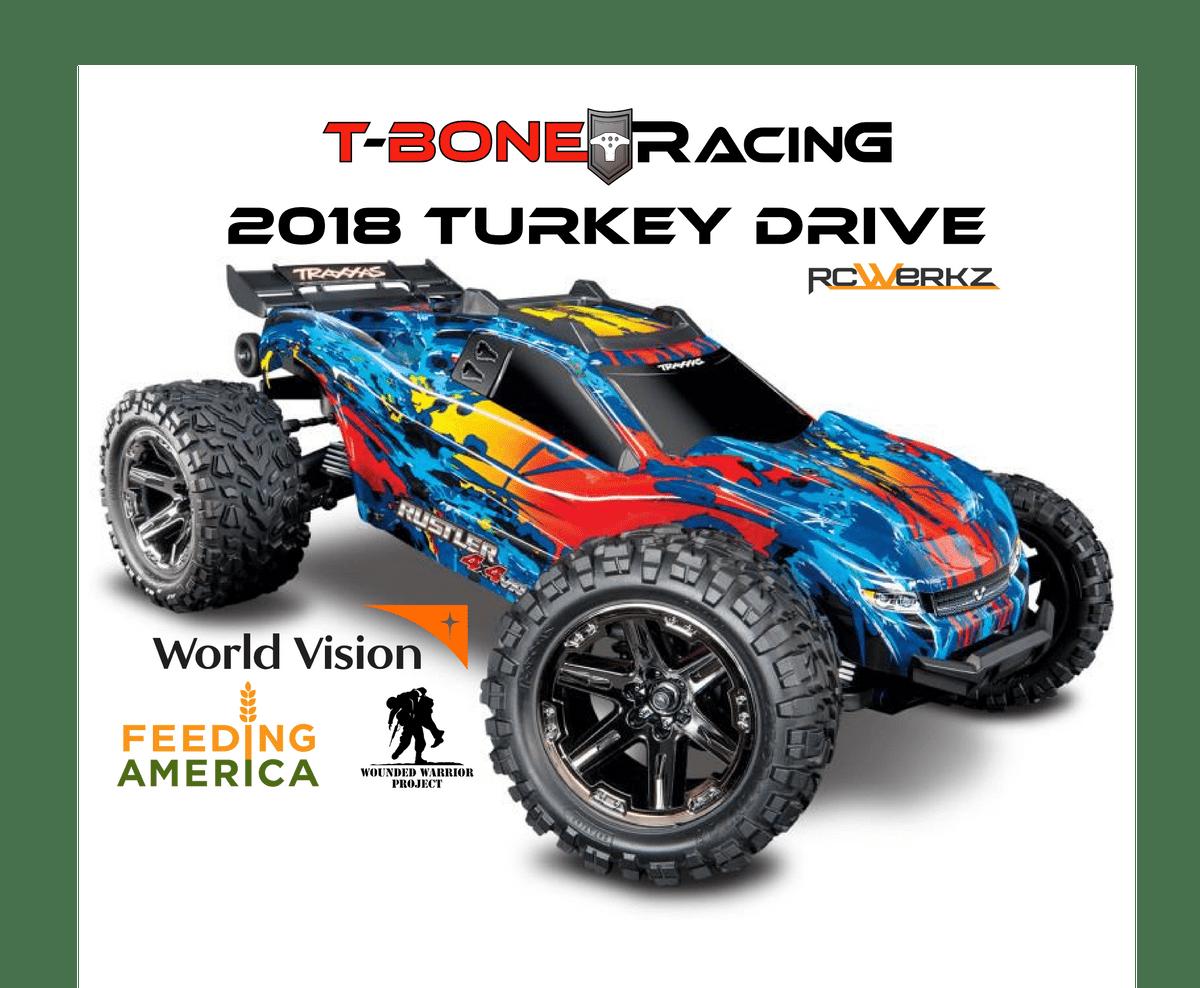 Enter T-Bone Racing's Traxxas Rustler 4×4 Raffle & Support Three Worthy Charities