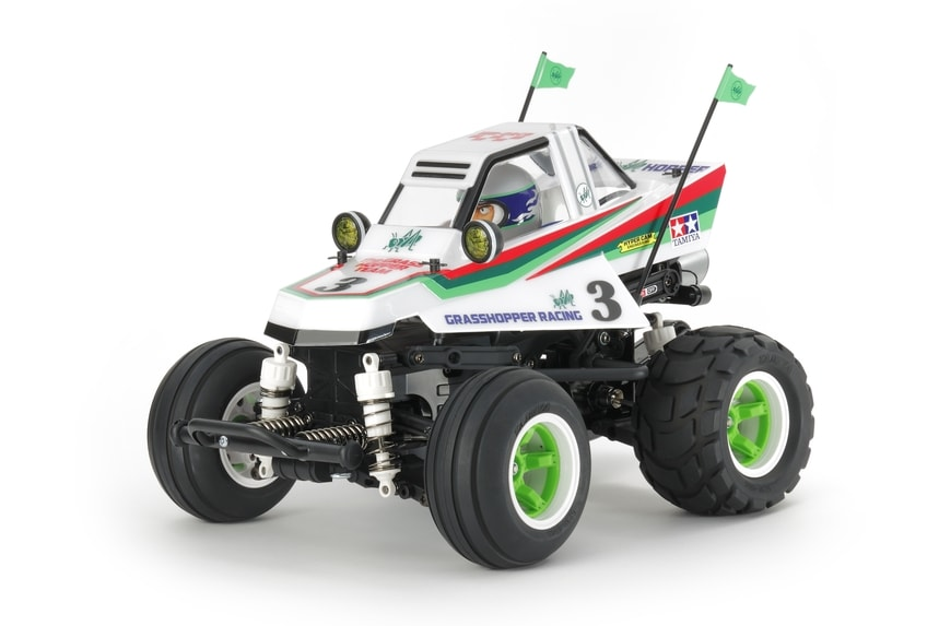 A Cartoon'd Classic: Tamiya's Comical Grasshopper Buggy