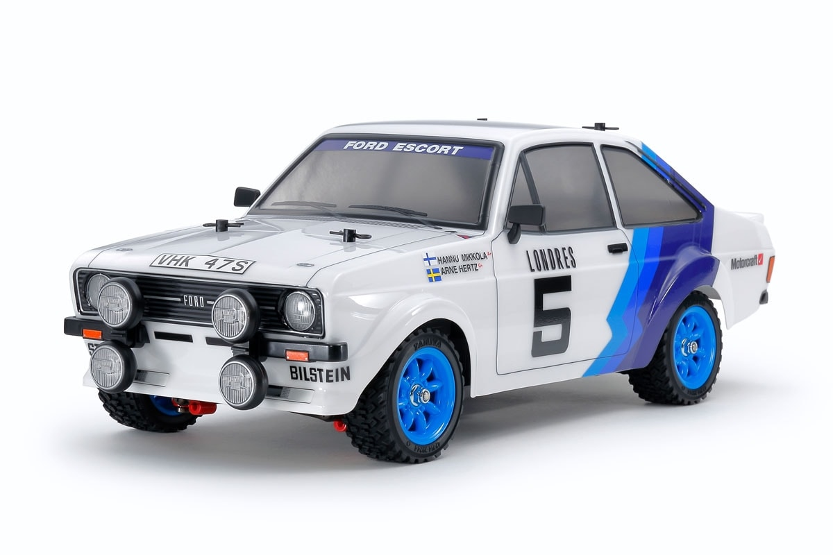 Recreate Vintage Racing Moments with Tamiya's Ford Escort MK II Rally Car
