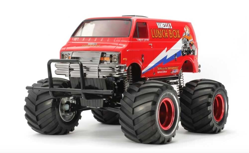 "Tamiya ""Red Edition"" Lunchbox R/C Kit"
