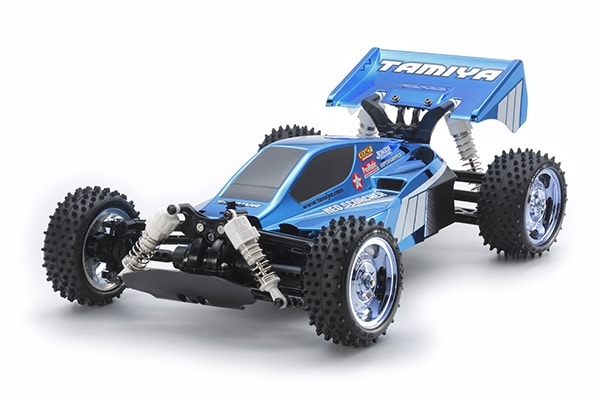 True Blue: Tamiya's Neo Scorcher Metallic Blue Buggy