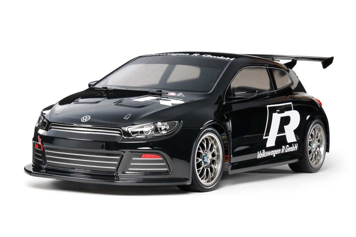 Tamiya's Sleek Volkswagen Scirocco GT On-Road R/C Car Kit