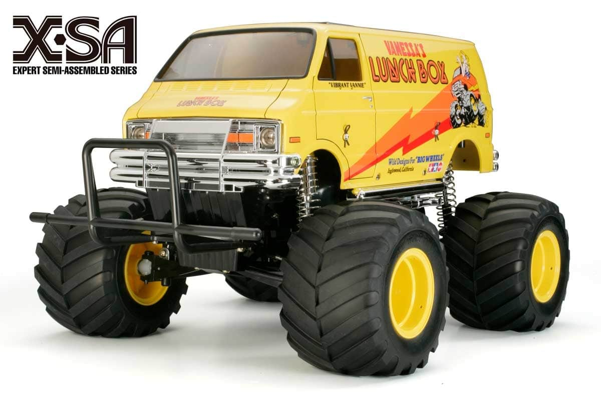 Get a Head-start on Your Build with Tamiya's X-SA Lunchbox