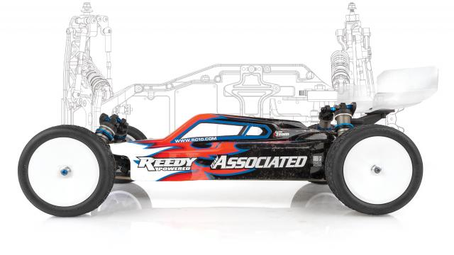 Team Associated RC10B61 Factory Lite Team Kit - Side