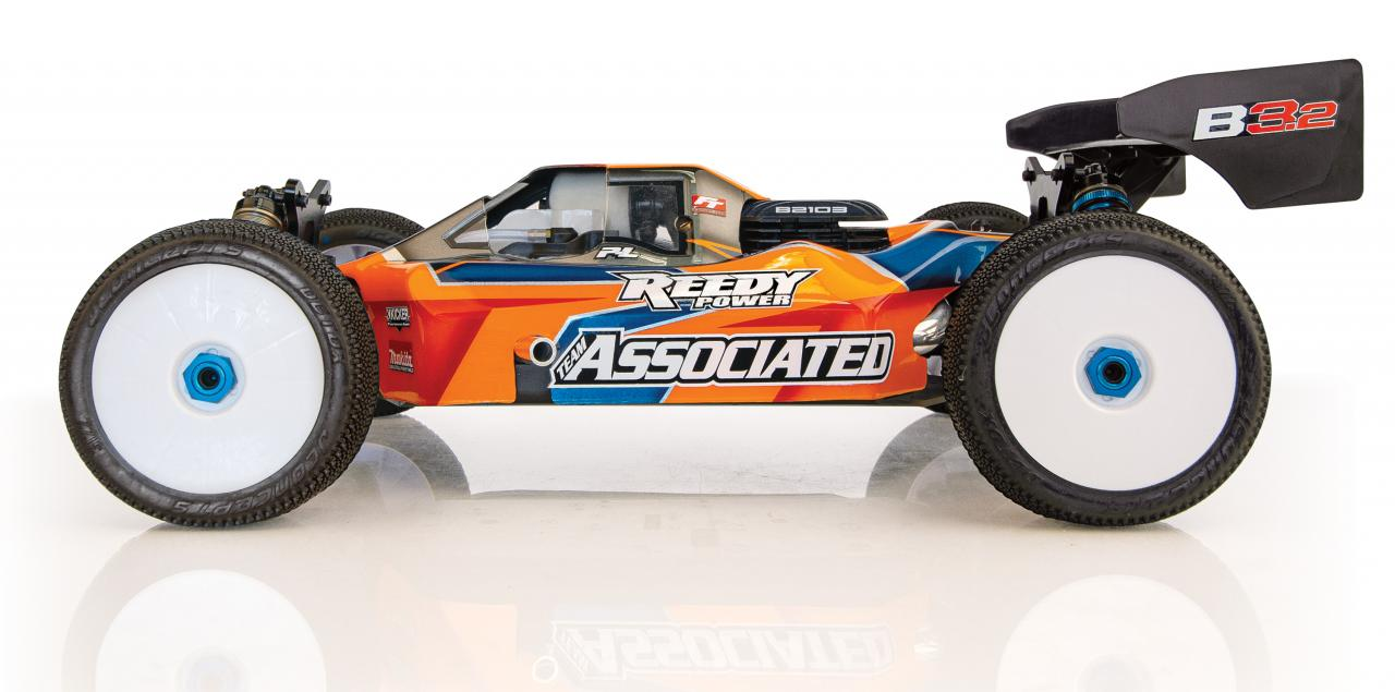 Team Associated RC8 B32.2 Nitro Buggy Kit - Side