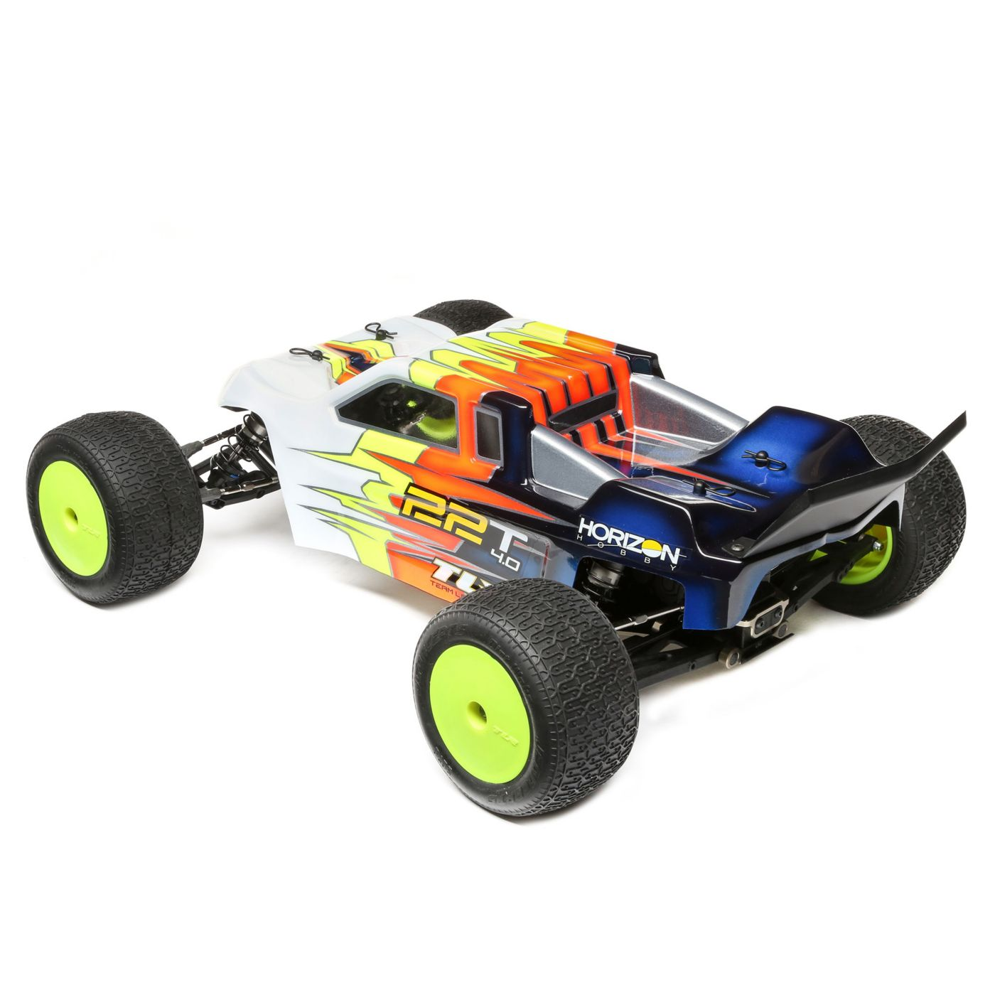 Team Losi Racing 22T 4 Stadium Truck - Rear
