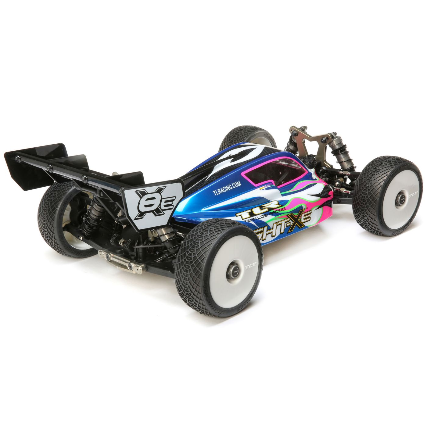 Team Losi Racing 8IGHT-XE Electric Buggy Kit - Rear