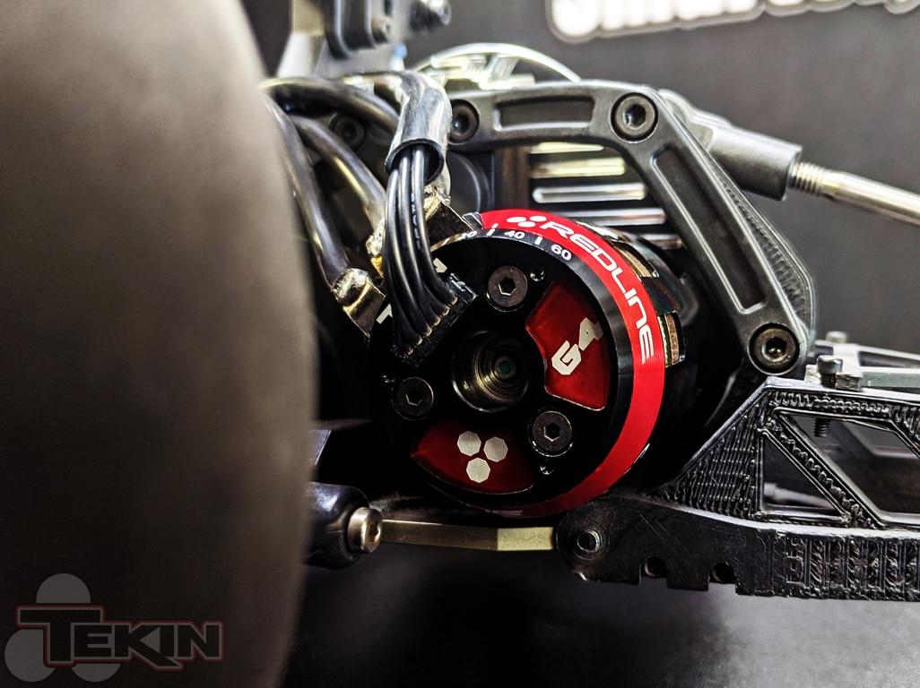 Tekin G4 Eliminator Motor - Installed