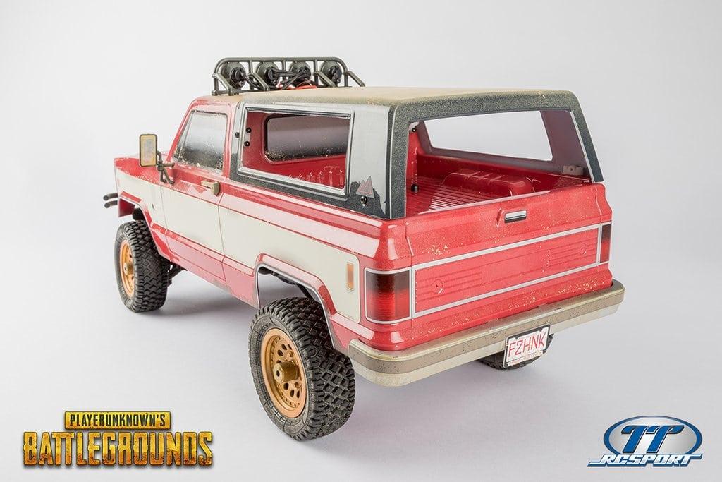 Thunder Tiger PUBG 4x4 American Pickup Truck - Rear